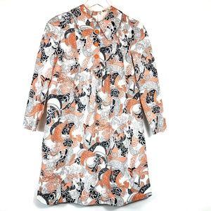 Lan Siang Vintage Butterfly Collar Dress